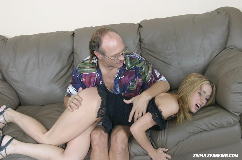 old man spanks hot chicks