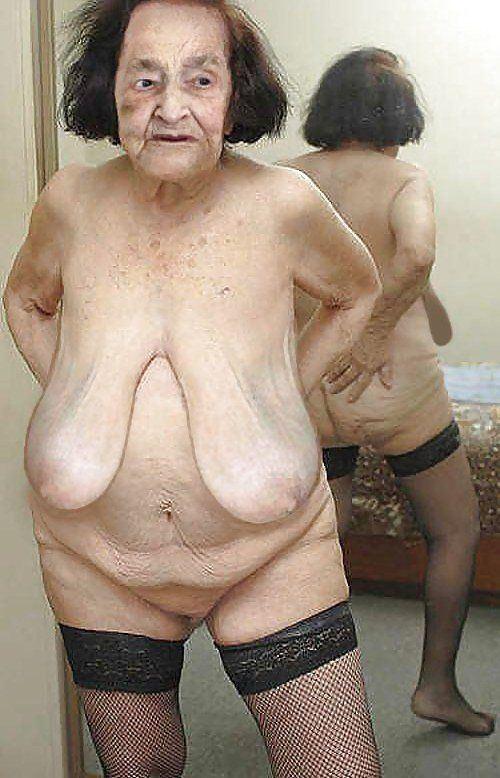 Granny boobs old Coco Austin