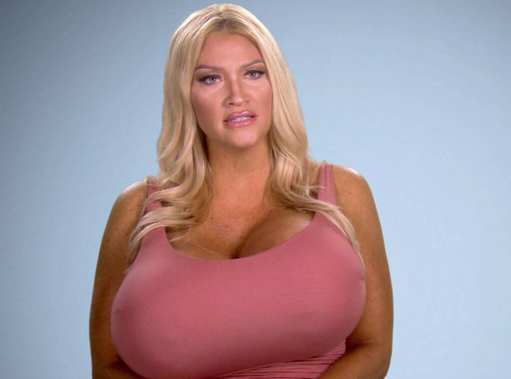 best of Breast Big blonde implants breasted