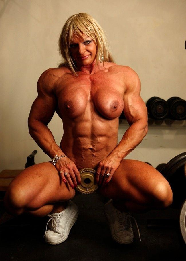 Muscle women naked