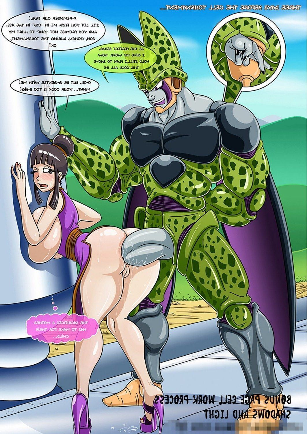 You comic porno gt sexo dragon ball tempting