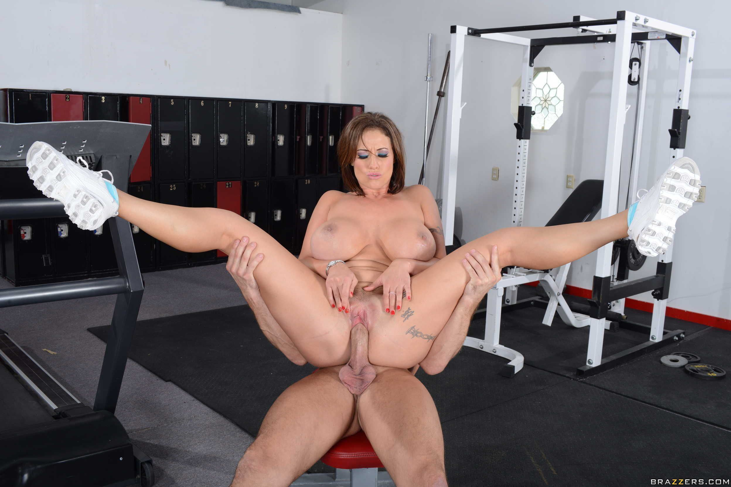 Gym sex pron