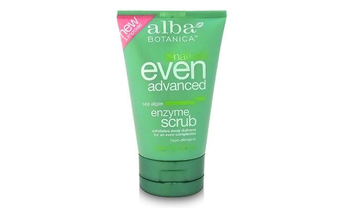 Offense reccomend Alba sea algae enzyme facial scrub
