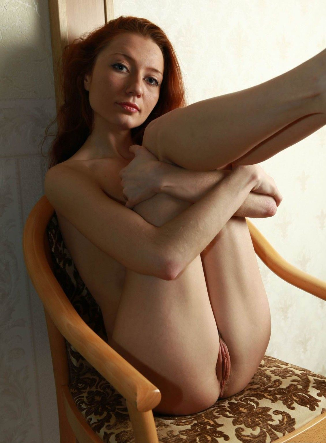 Nude pussy as