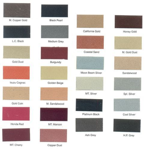 BBQ reccomend Asian paint shade cards