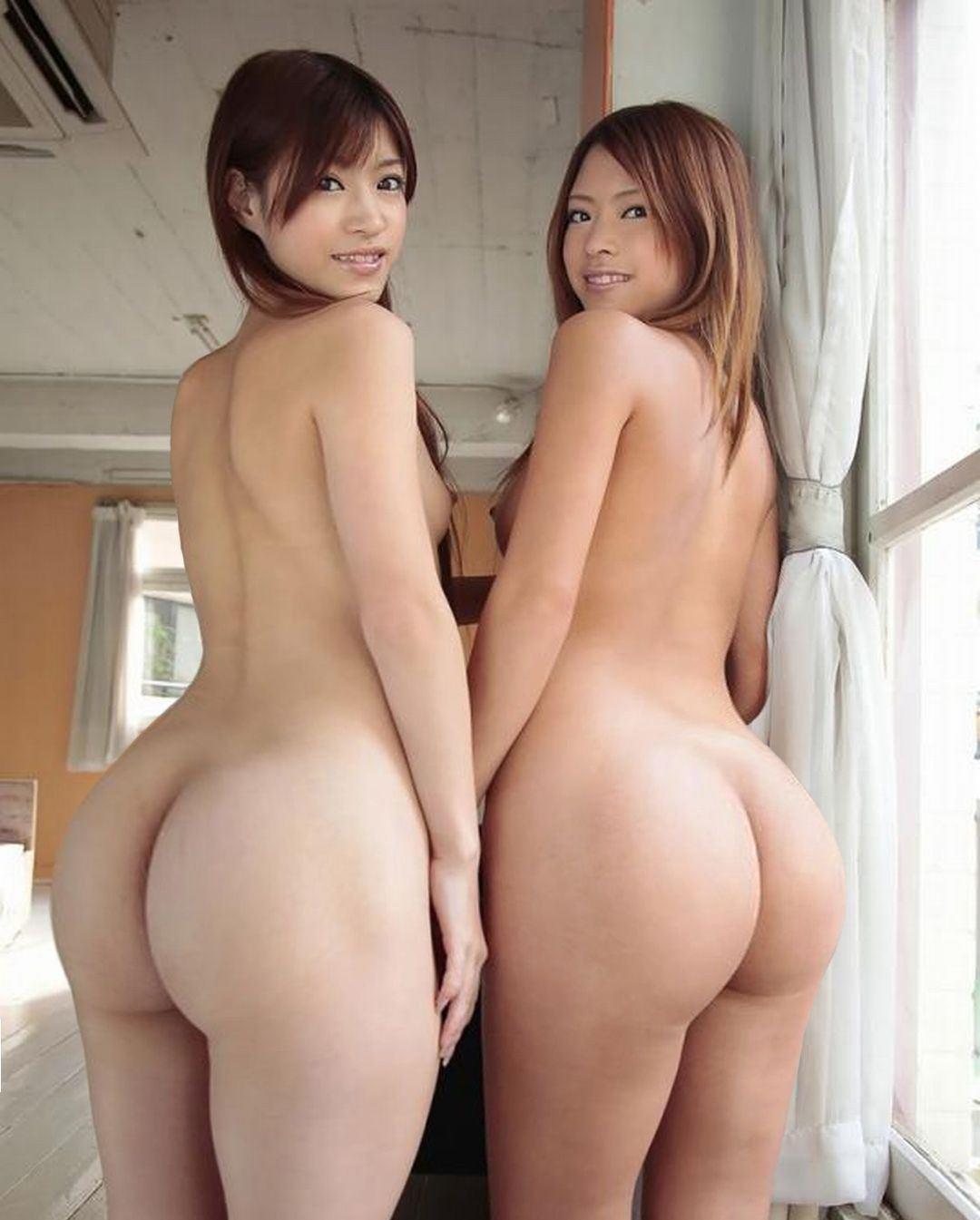 Asian panties uncut butt