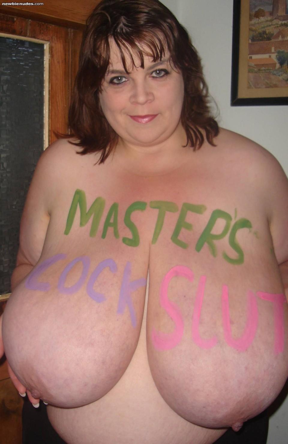 Boob fat juggs tit