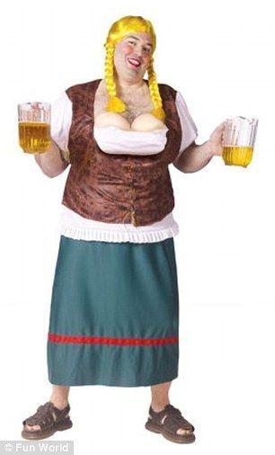 Shortbread reccomend Fat lady costume