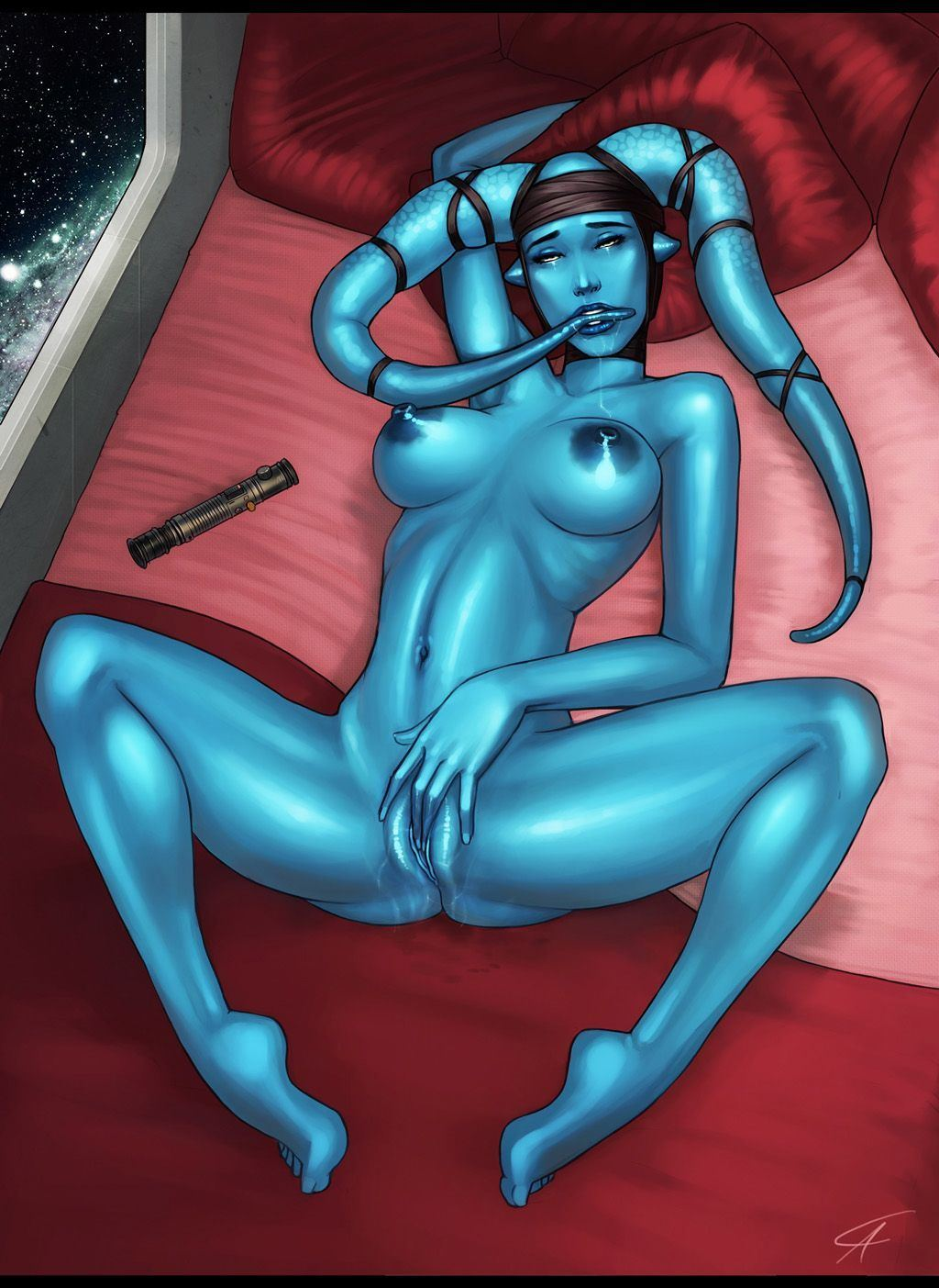 Alien Nude Girls aayla secura porn . nude photos.