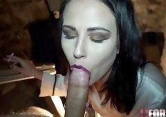 Fetisch german ebony smoking blowjob cumhot. Blowjob adult video