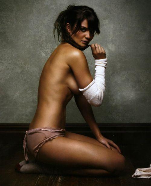 Gina carano topless
