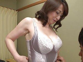 Asian bisexual panties wife