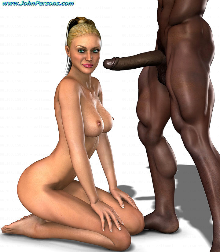 Girl naked at the computer
