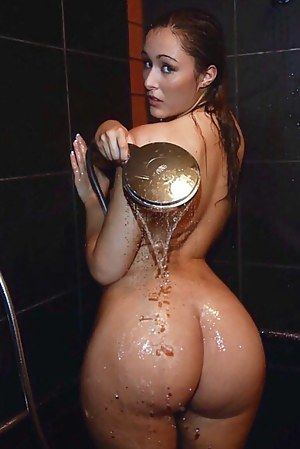 Shower butt nude tight very pity me