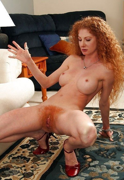 Red head bush porn