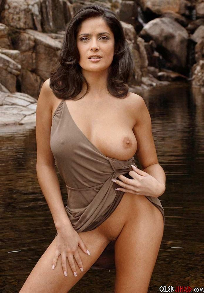 best of Hayek boob pictures Salma