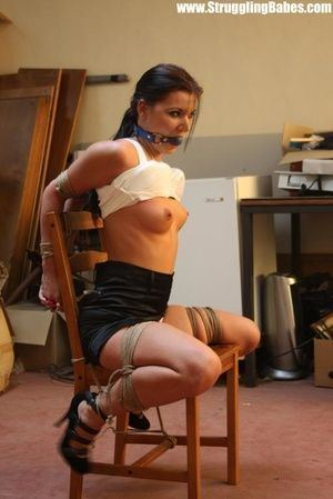 Girl in bondage chair Sexy Woman In Chair Bondage Adult Archive Comments 1