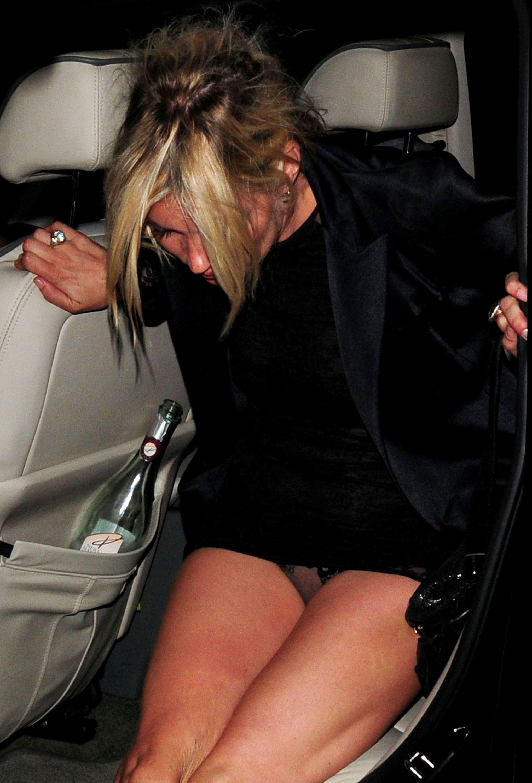 taxi celebrity upskirt